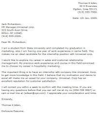 Computer Science Internship Cover Letter Sample Cover Letter