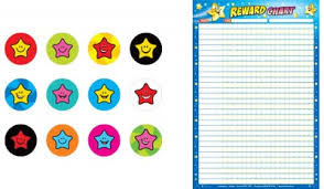 Jumbo Reward Chart And Sticker Bundle Bizziebaby Bizziebaby