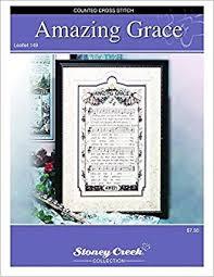 Amazing Grace Leaflet 149 Cross Stitch Chart And Free