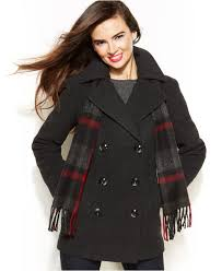 gallery previously sold at macy s women s peacoats