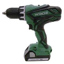 hitachi cordless drill. hitachi 18-volt 1/2-in cordless drill c