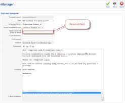 Sample Email To Apply For A Job Ja Job Board Component Administration Joomla Templates And