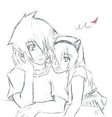 Coloring Pages Anime Couple Coloring Pages Cute Anim Anime Couple