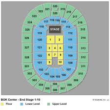 Bok Concert Seating Chart Explicit Tulsa Bok Center Seating Chart Lauren Daigle Lauren