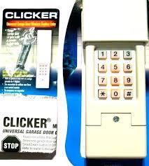 craftsman garage door opener keypad troubleshooting how to change code on reset do