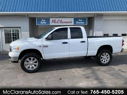 Dodge Ram 2500 Service 4wd Light Used 2008 Dodge Ram 2500 Slt Quad Cab 4wd For Sale In Kokomo