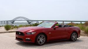 2015 ford mustang convertible. 2015 ford mustang gt convertible review soupedup but stiff