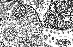 Small Picture Trippy Coloring Pages To Print Cute Free Printable Trippy Coloring