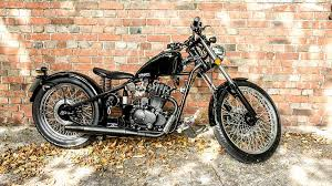 sinnis motorcycles heist 125 hardtailed bobber