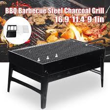 Outdoor <b>Portable</b> Picnic Burner Patio Camping <b>Barbecue Grill Large</b> ...
