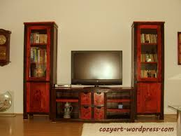 Painted Living Room Furniture Red Living Room Furniture House Living Room Design