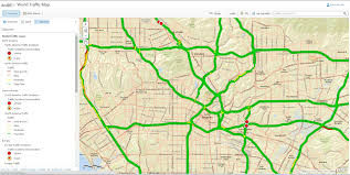 arcgis   how to display two line traffic road map