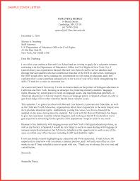 Cover Letter Format Harvard Memo Example