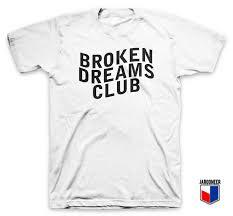 Club T Shirt Designs Cool Broken Dreams Club T Shirt Design Parody T Shirt