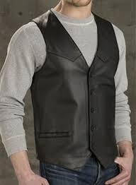 leather vest 301