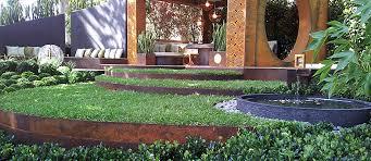 corten steel garden edging nz designs