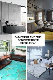 Home Decor Tile Stores 100 Modern And Chic Concrete Home Décor Ideas DigsDigs 88