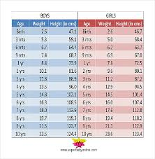 Height Weight Chart Template 11 Free Word Excel Pdf