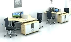 home office workstation. 2 Person Office Desk Home Workstation Partition