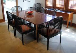 Kitchen Table : Beautiful Black Granite Dining Table And Chairs ...