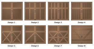 garage door typesWood Garage Doors  TrendSlidingDoorscom