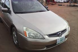 Cheap and Affordable Registered Honda Accord 2003 Model up for ...