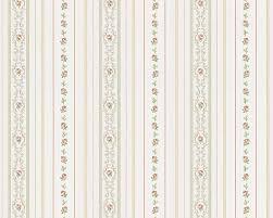Kleine Roosjes Bloemetjes Behang Romanze As Creation 85017 1 Glansvinyl