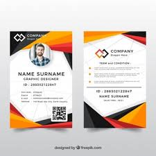 Identity Card Design Id Card Designs Vectors Photos And Psd Files Free Download