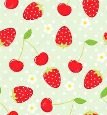 Cherry Pattern Interesting Decorating