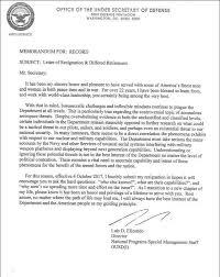 Resignation Memo The Leaked Elizondo Letter