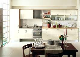 One Wall Kitchen Designs With An Island Plans Cool Decoration