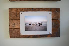 unique wall collage frames wooden
