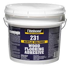 titebond 231 acrylic wood flooring adhesive