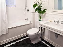 Part Tiled Bathrooms 9 Bold Bathroom Tile Designs Hgtvs Decorating Design Blog Hgtv