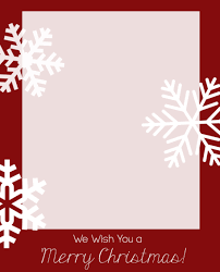 Photo Christmas Card Free Christmas Card Templates Crazy Little Projects