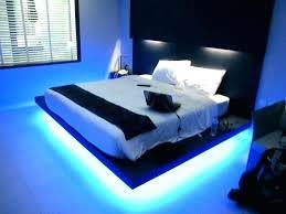 Image Platform Bed Ebay Bedroom Led Lighting Salonedacom