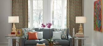 Window Treatment Magnificent Custom Drapery Living Room Window