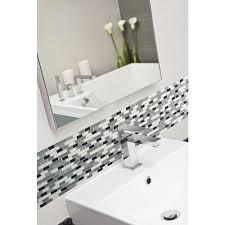 Decorative Wall Tiles Bathroom Smart Tiles Muretto Prairies 1025 In X 9125 In Mosaic