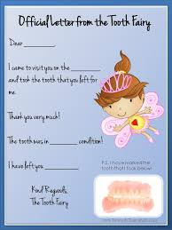 tooth fairy letter 2
