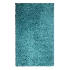 chesapeake merchandising microfiber teal 7 ft x 9 ft area rug