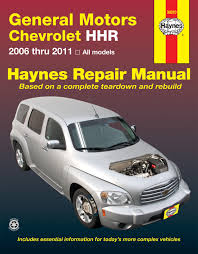 chevrolet hhr 06 11 haynes repair manual haynes manuals enlarge chevrolet hhr