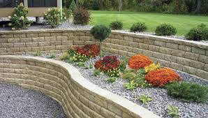 Control Erosion In The Landscape Beauteous Backyard Retaining Wall Designs Plans