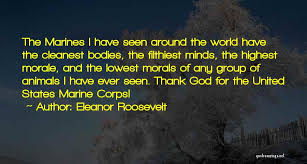 Marines Quotes Classy Quotes About The Marine Corps Eleanor Roosevelt Best Quote Photos