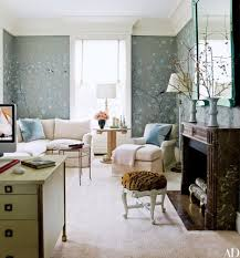 Office wallpaper design Cute Chinoiserie Wallpaper By De Gournay Lines The Wifes Office In New York City Home By David Kleinberg Design Associates The Jeancharles Moreux Gueridon Pinterest 33 Wallpaper Ideas For Every Room Architectural Digest