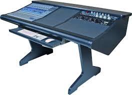 Malone Design Works StudioLive 24 Desk with One Rack Bay image 1