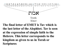 learning about the hebrew letter tav