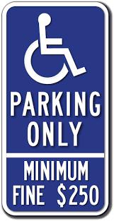 Handicap Bathroom Signs Impressive California Handicapped Parking Signs ADA Sign Depot