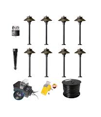 Diy lighting kit Aquarium Led Mount Led Diy Path Garden Lighting Kit Low Voltage Landscape Lighting The Lighting Doctor Led Diy Path Garden Lighting Kit The Lighting Doctor