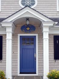 cottage front doorsCottage Front Door with Exterior white columns by Point One