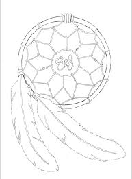 Native Dream Catchers Drawings Best Dream Catcher Drawing Easy At GetDrawings Free For Personal